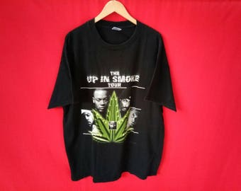 vintage hip hop singer the up in  smoke tour rare t shirt