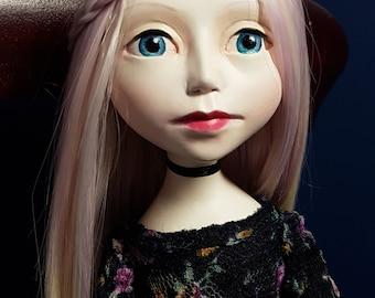 OOAK Paper Clay Doll