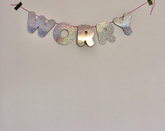 Pity Party Banner- WORRY