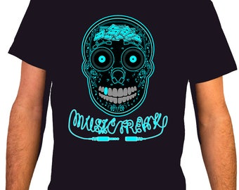 Music Freak / MSC 26 - Music DJ Man T-shirt