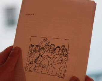 "Comic Perzine ""Pischazon"" //zine//fanzine//comics//personal//diy"