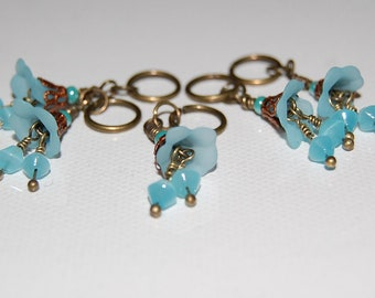 Art Nouveau Inspired Stitch Markers