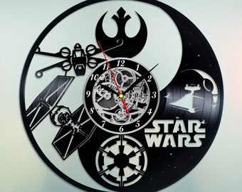 Star Wars death star, Vinyl wall clock, Death Star decal, Star wars gift ideas, Star Wars decor, Star Wars nursery, Star Wars wall art