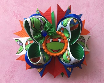 Teenage Mutant Ninja Turtles Hair Bow