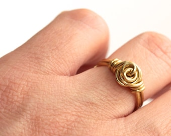 Rose Ring * Flower Ring * Floral Ring * Floral Jewelry * Flower Jewelry * Rose Jewelry * Rings for Women * Ring Flower......*Poor Hierarchy*