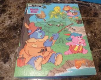 Disney's Gummi Bears Jigsaw Puzzel by Golden Vintage 1985 Complete