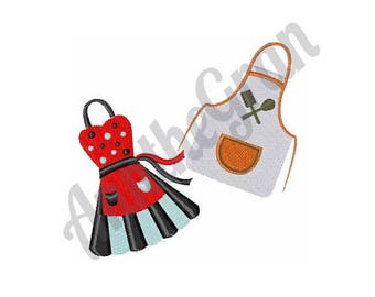 Aprons - Machine Embroidery Design