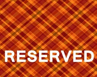 Reserved Listing for custom design