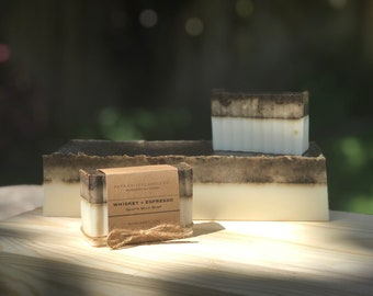 Whiskey and Espresso - Handmade Natural Goats Milk Soap