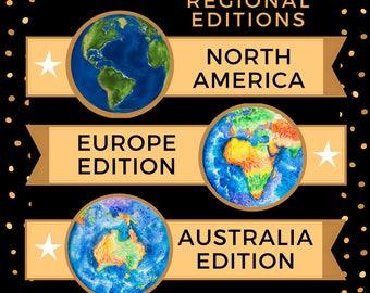 Cosmic Calendar 2018 - Australia & European Editions