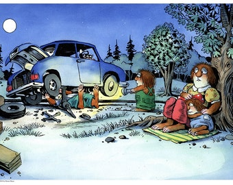 Little Critter's The Trip signed Giclée Print #LCTheTrip2425_03-Free Shipping