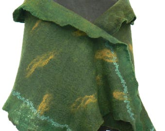 Forest Green Wrap