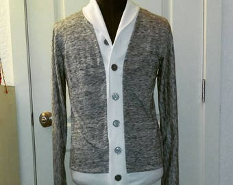 Grandpa Sweater/ Cardigan