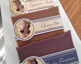 Sensuous & Sophisticated in a Creamy Shea Butter Soap