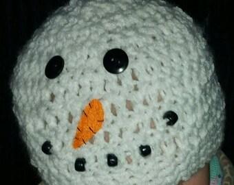 Snowman Winter Hat for Babies