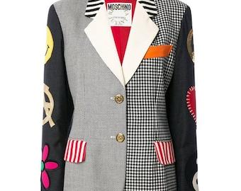 Moschino Couture Multico Patches Blazer