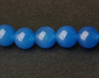 Blue Chalcedony Beads - 15'' Full Strand Gemstone Beads - Genuine Natural Stone bead