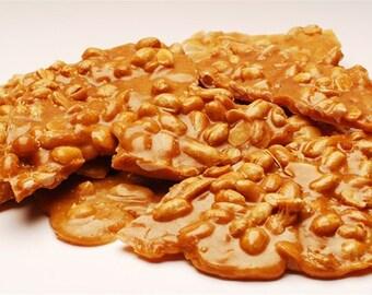 Foxy's Sweet Treats Famous Buttery Loaded Peanut Brittle - 1 lb - FRESH!