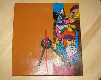 Artistic wall Clock-ceramic, gift