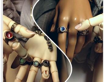 "Ring for ABJD dolls, type ""Carved"""