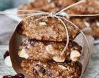 1 dozen cranberry oat  chocolate chip cookies,rolled oat cookies,cranberry  cookies, party cookies,holiday cookies