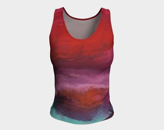 Sunset fitted tank
