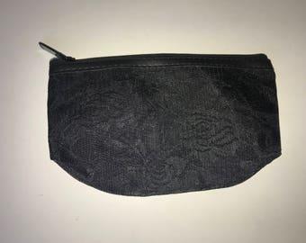 Lace pencil bag
