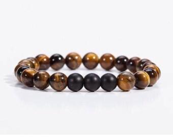 Natural Stone Bracelet Brown