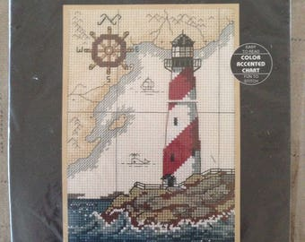 Cross Stitch Kit - Lighthouse by Dimensions The Maritime