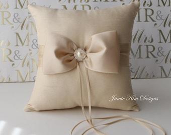 Anello portatore cuscino / cuscino - matrimonio su misura