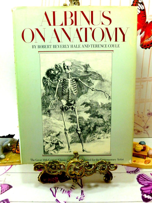 Albinus en anatomía primera edición 1979 magníficamente