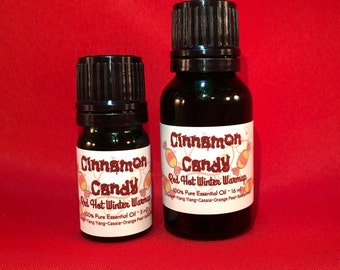 Cinnamon Candy Essential Oil, Holiday Diffusing, Red Hots, Uplifting Aroma, Natural Air Purifier, Holiday Scent, Christmas, Hanukkah