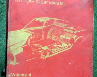 BTS 1974 Ford Car Body Shop Manual Volume 4