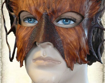 Handcrafted Leather Mask