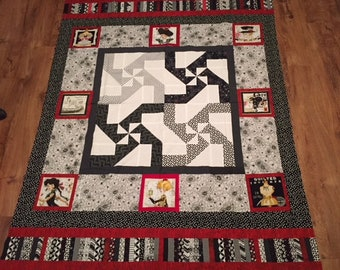 Quilting girls quilt top