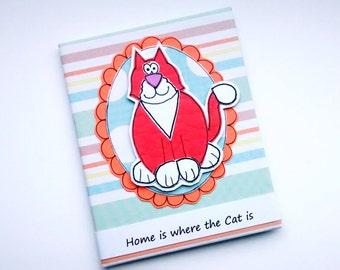 Cat Magnet  - Cat Lover Gift - Fridge Magnet - Cat Owner Gift - Orange Cat