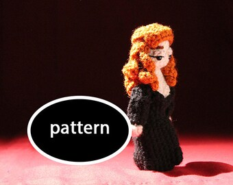 Pattern for Rowena Crowley Supernatural Mini
