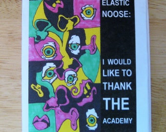 Elastic Noose: I Would Like To Thank the Academy - a mini zine about everything I am grateful for in my life