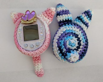 Tamagotchi 4U/+, P's Crochet Cover Pattern