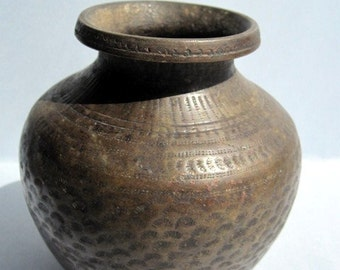 Antique Bronze Pot from Karnataka.