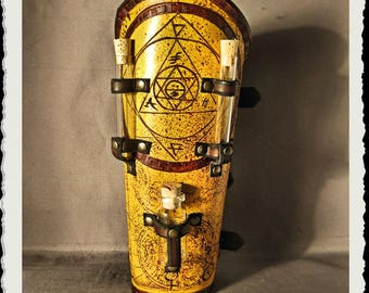 Leather bracer - Alchemist I - Mundus -