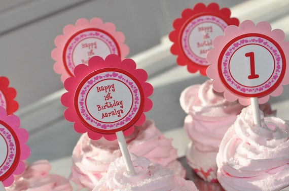 valentine favor tags valentine's day birthday party, Ideas