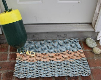 Recycled Lobster Rope Rug