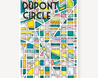 Dupont Circle Neighborhood Map