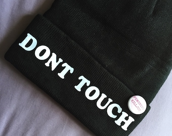 Dont Touch Feminist Beanie