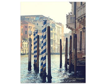 Venice Photography, Italy Wall Art Print, Italy Photo, Bedroom Wall Decor, Grand Canal, Venice Picture, Travel Art, Vertical Art Print