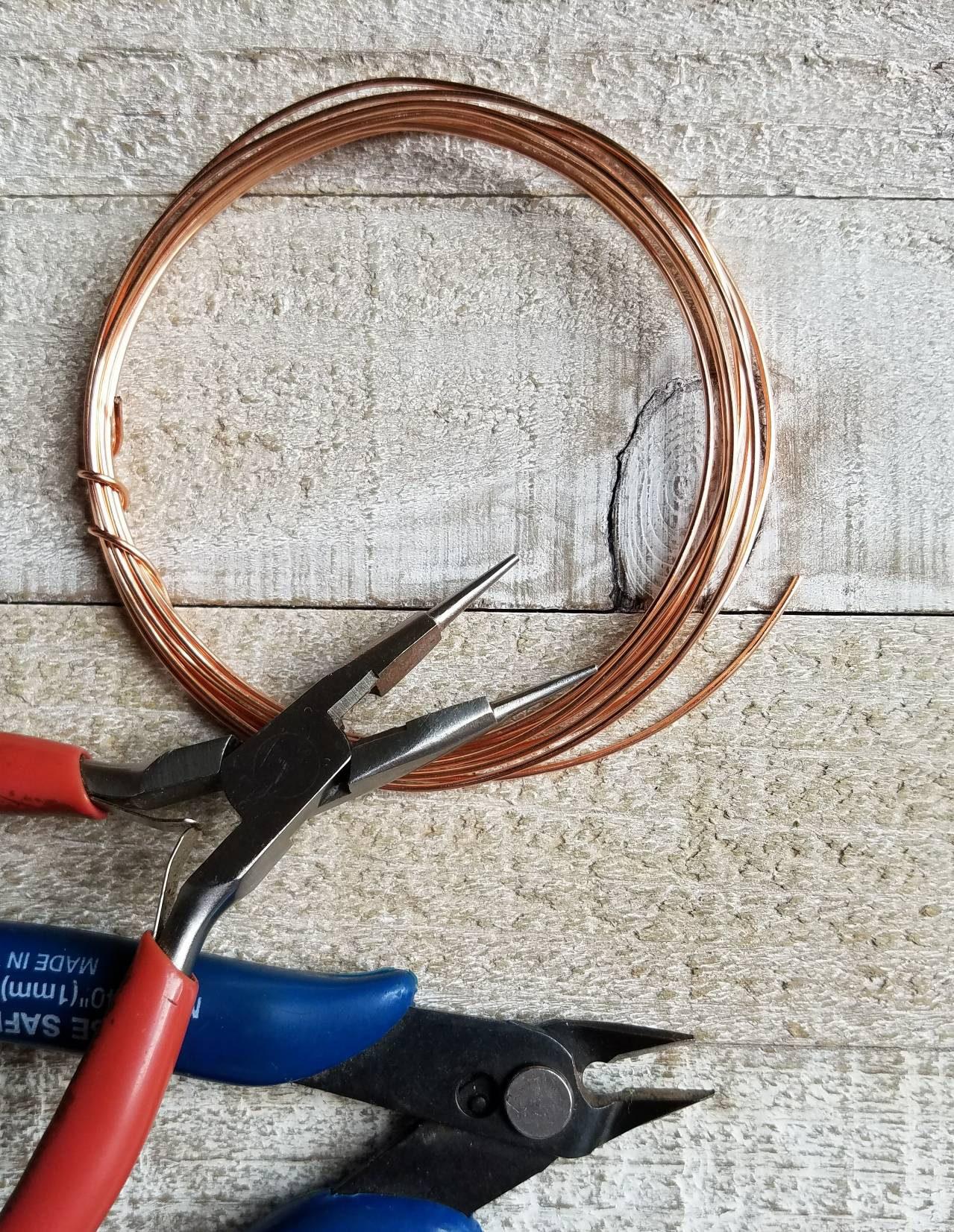 24ga gauge Copper Wire - 25 feet - Copper Wire Supplies Wirework ...