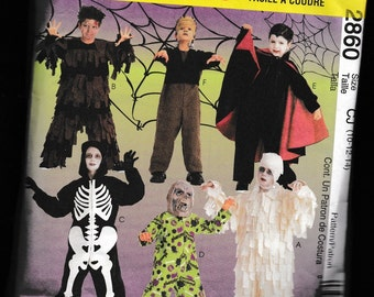 McCall's 2860 Easy to Sew Costumes