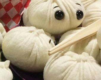 Nikuman (steamed bun) felt plush