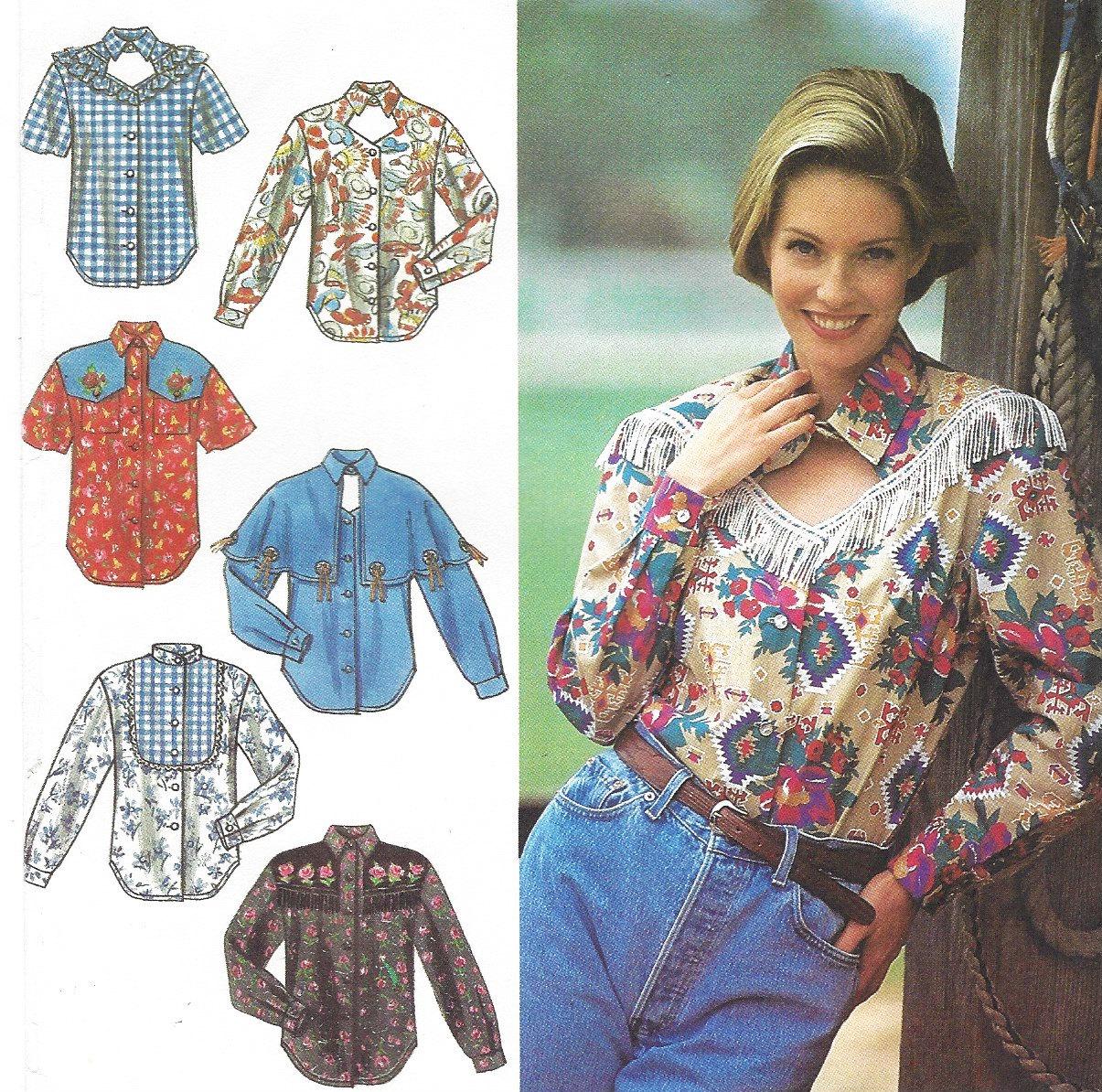 90s womens western shirts keyhole neckline shirt with cape zoom jeuxipadfo Images